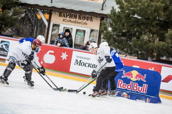 Red Bull Open Ice 2016 в Москве: Дебют команды Street Hockey League United
